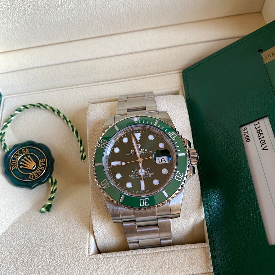 Rolex Submariner Date 116610LV Discontinued 2018
