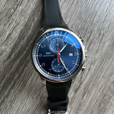 IWC Portuguese Yacht Club Chronograph IW390213 Mint condition
