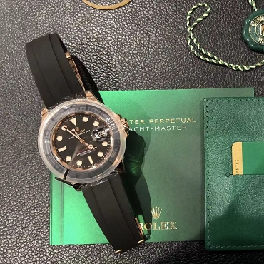 Rolex Yacht Rose Gold 126655 Brand new