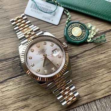 Rolex Day Just 41mm Rose gold/ steel 126331G 2018