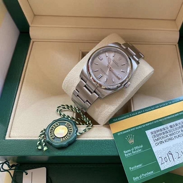 Rolex Oyster Perpetual 116000 2019