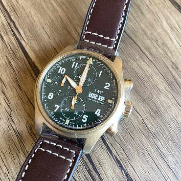 IWC Pilot Chronograph IW387902 Bronze 41mm