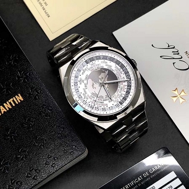 Vacheron Constantin Overseas World Time Stainless Steel 7700V/110A-B129