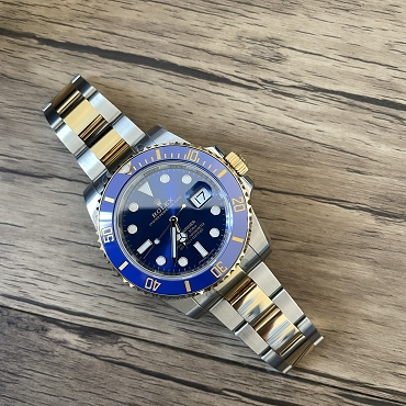 Rolex Submariner Tow Tones Blue 116613LB Brand new 2018