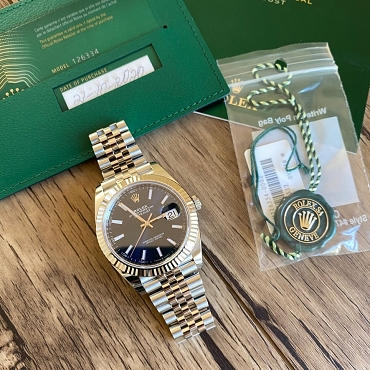 Rolex Day Just II 126334 Blue Dial