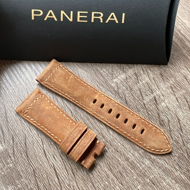 Panerai  Leather Strap OEM 24mm Brown