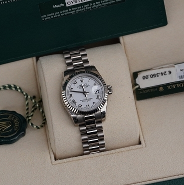 Rolex Lady Day Just 179179 White Gold Brand new